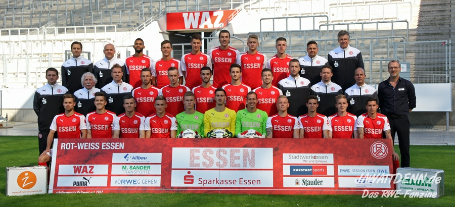 Regionalliga-Kader Saison 2014/15