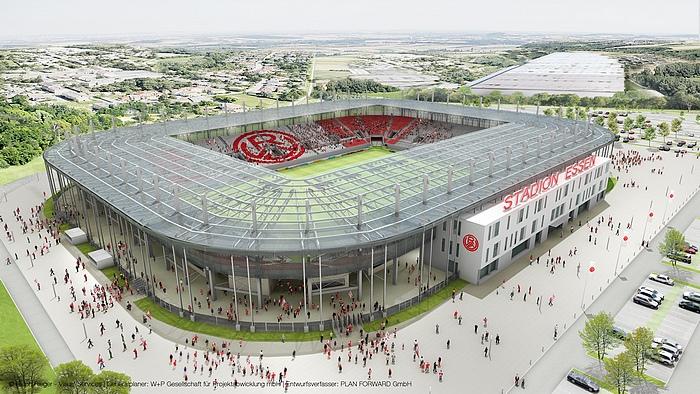 Stadion Essen | Hafenstraße | Jawattdenn.de