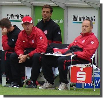 Uwe Erkenbrecher und Ralf Außem